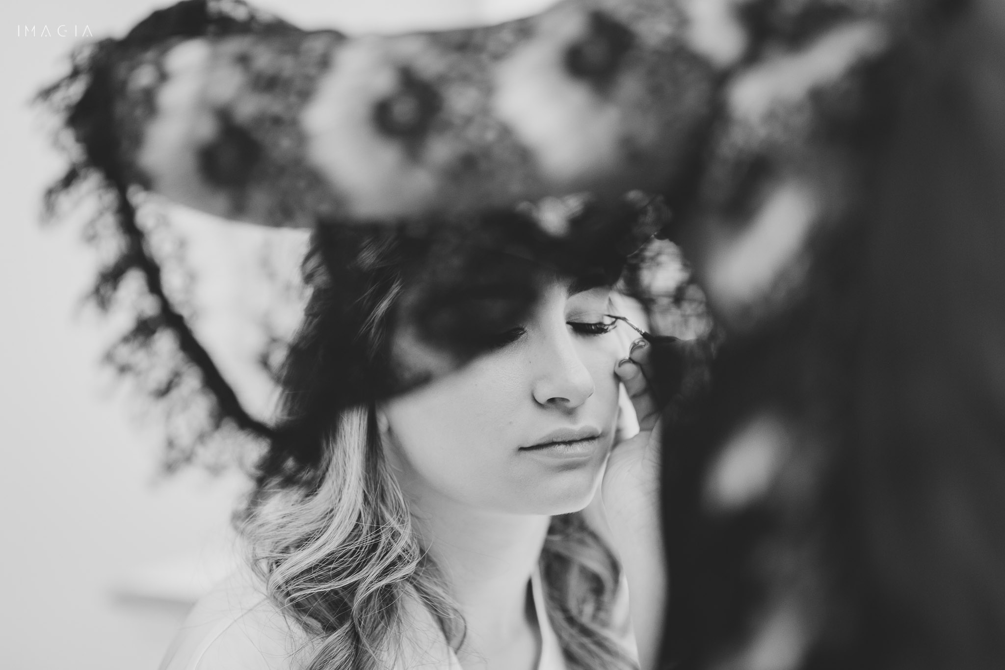 Mireasă la pregătiri de nuntă la Sun Garden în Cluj-Napoca