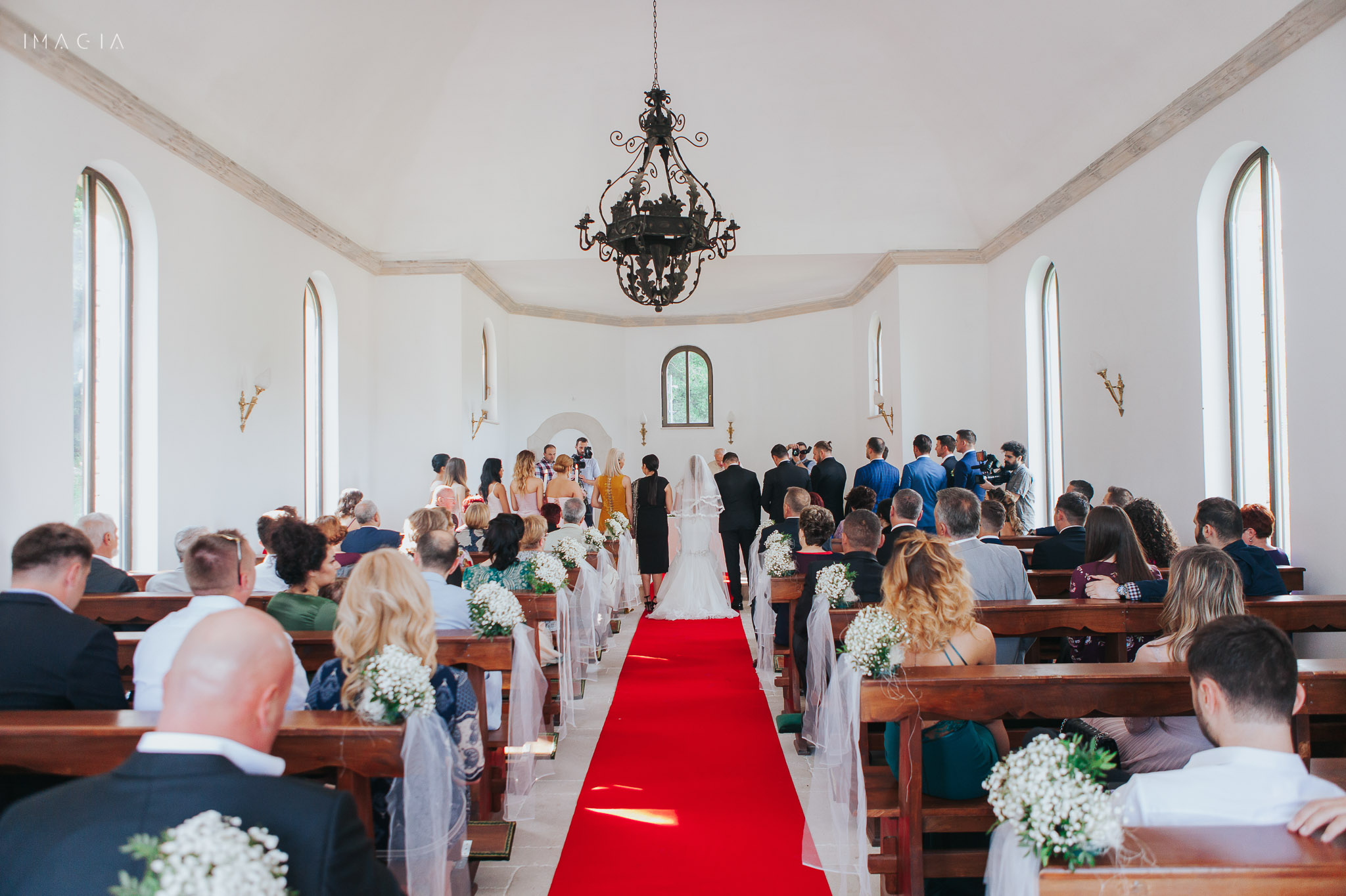 ceremonie religioasă la capela de la Sun Garden în Cluj-Napoca