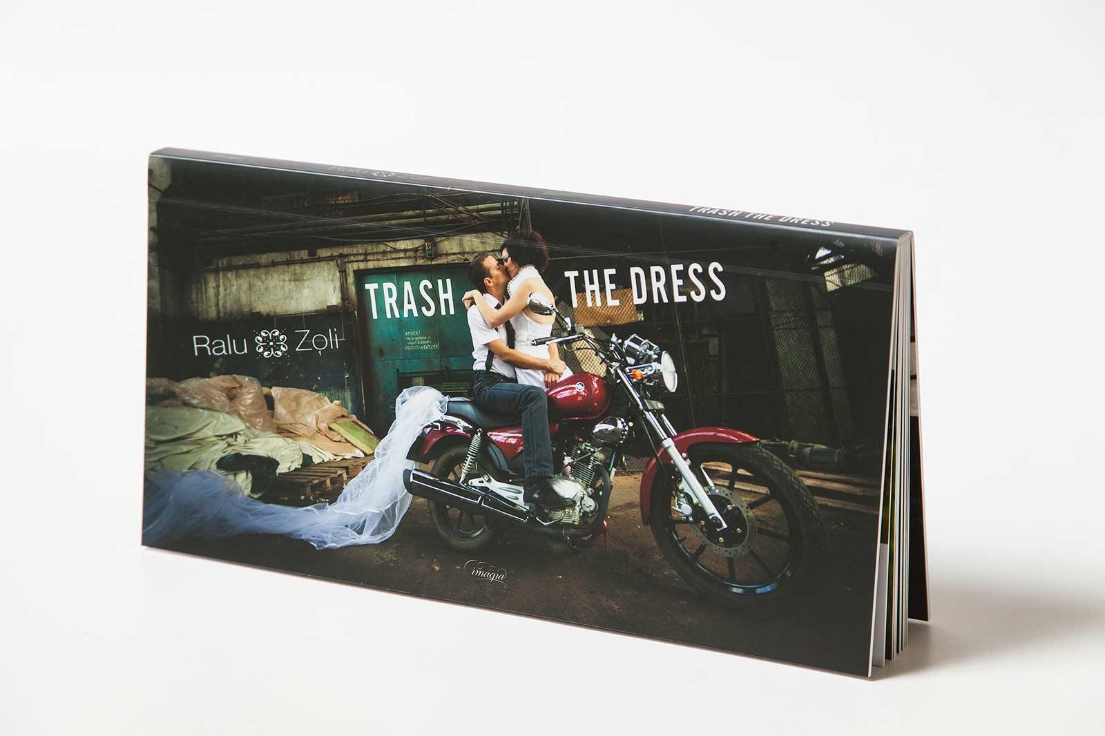 Album foto din ședința foto Trash The Dress