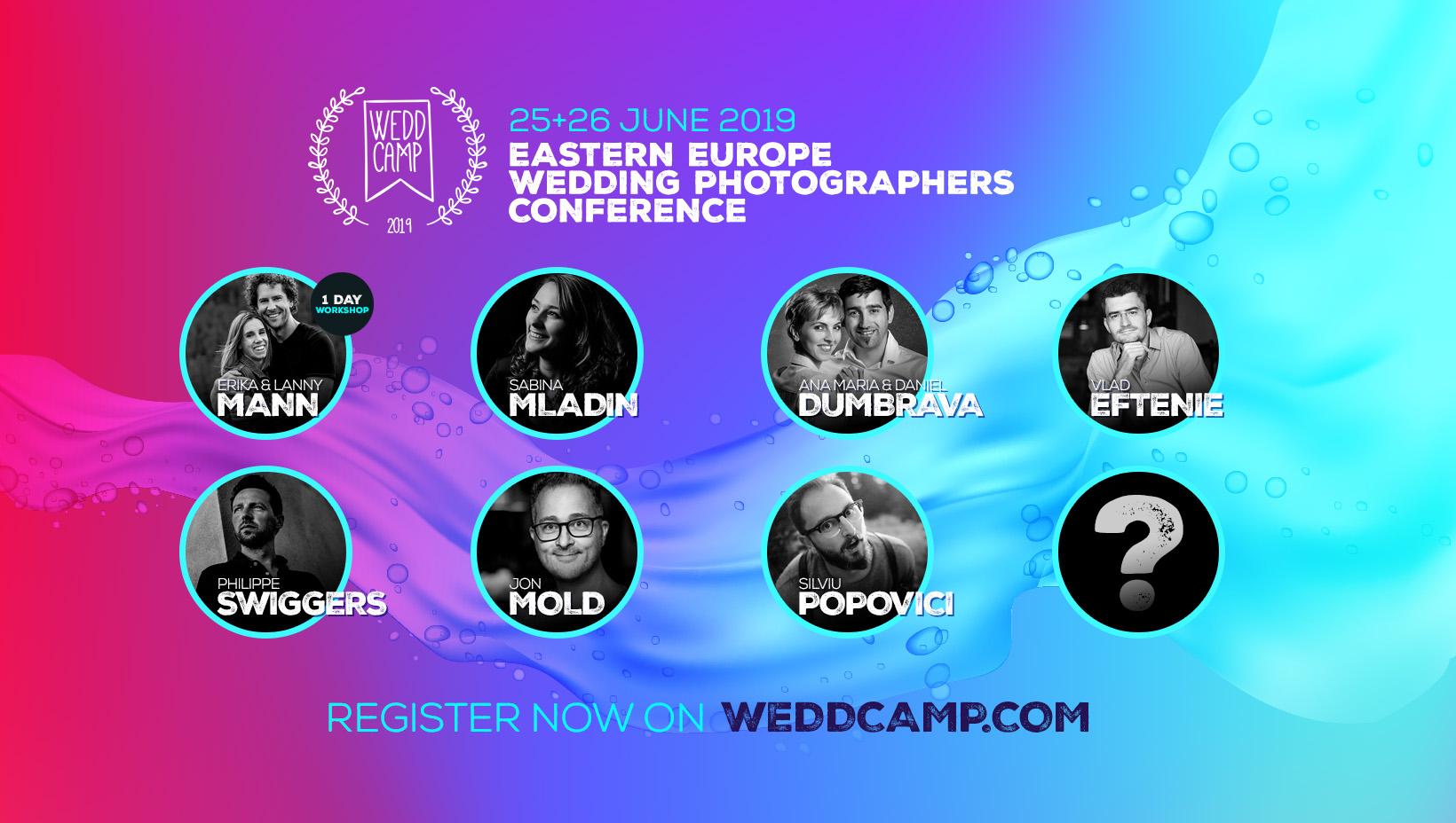 WEDDCAMP, Conferința fotografilor de nuntă