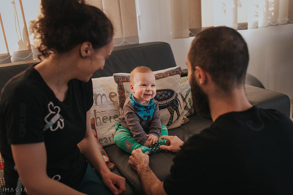 Fotogaf de familie în Cluj-Napoca la ședința foto