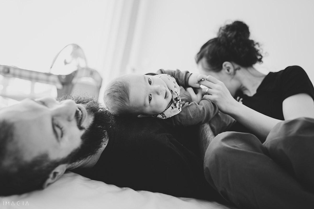 Familie din Cluj-Napoca la ședința foto cu copilul