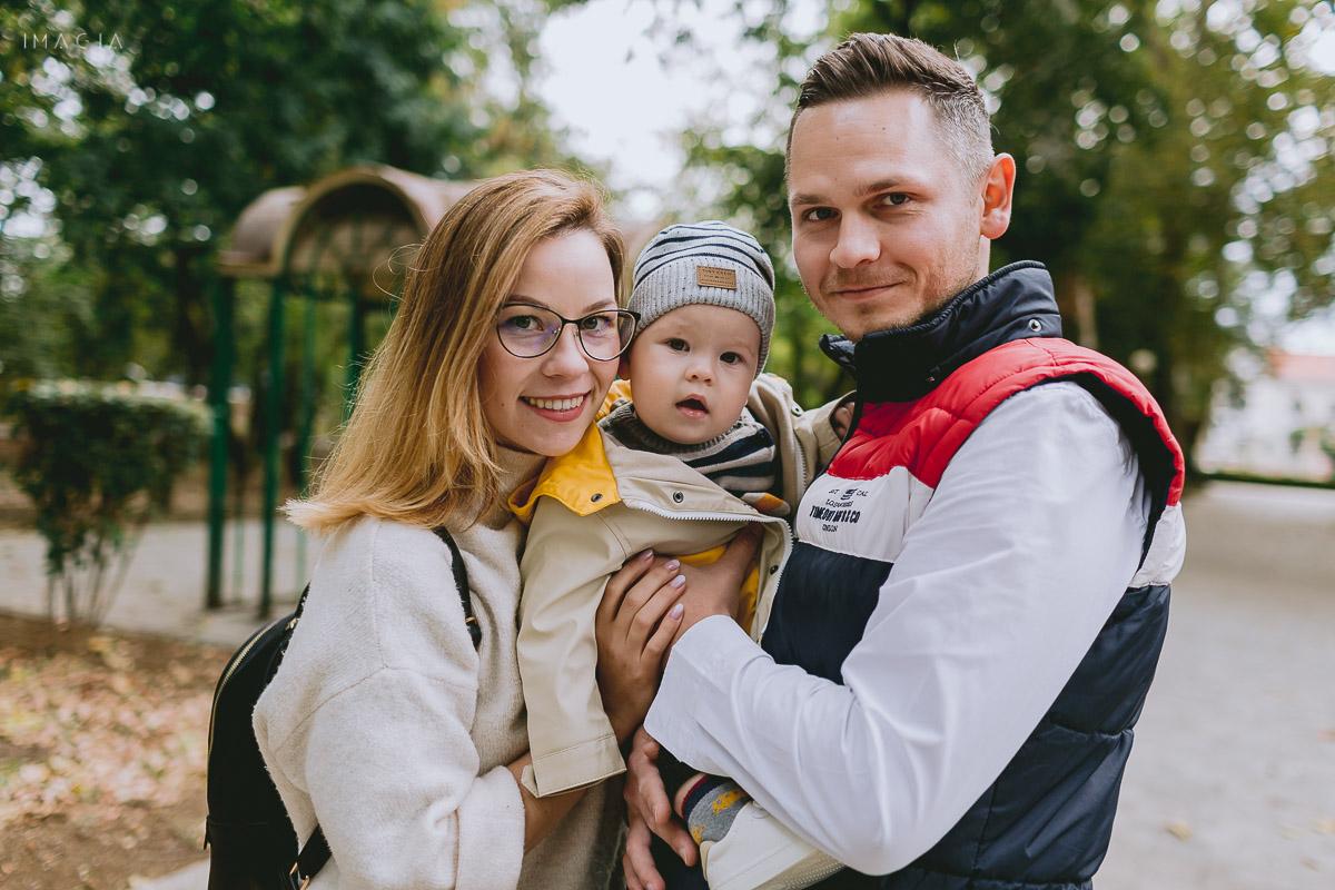 Fotografii de familie în Grădinile Romei din Satu Mare