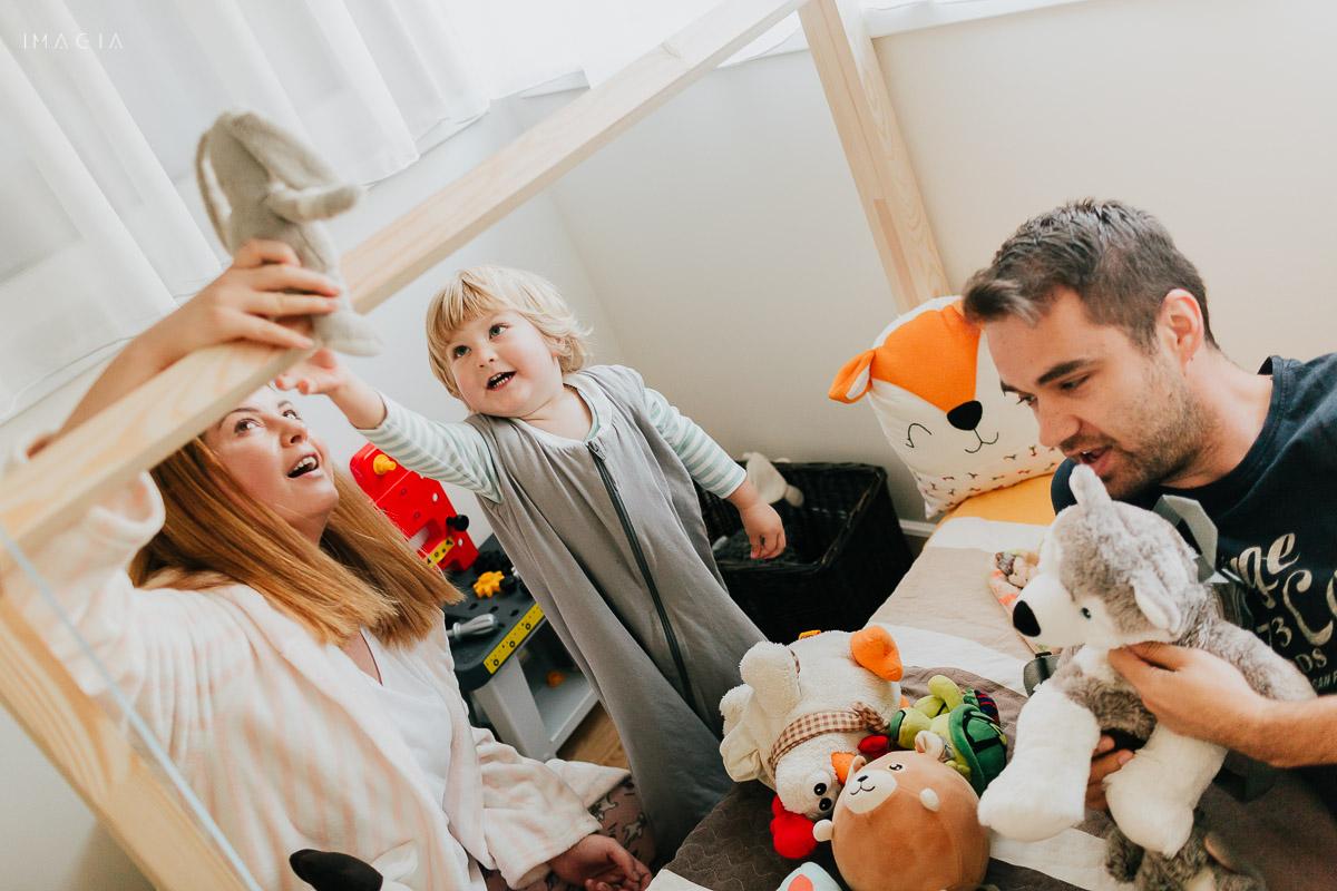 Joaca în familie