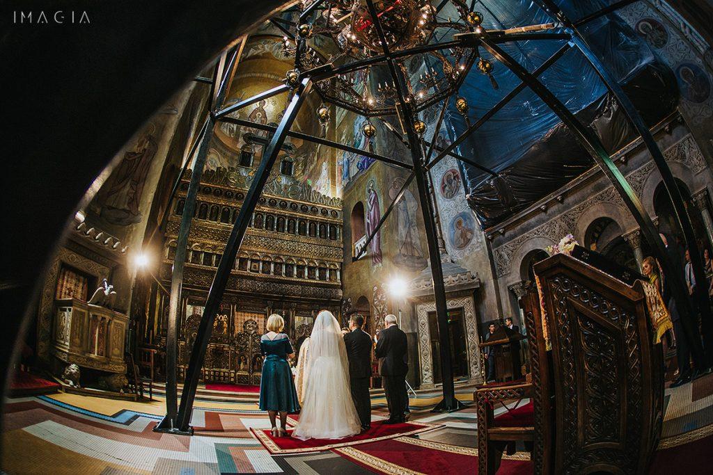 Cununie religioasă în Catedrala din Cluj-Napoca